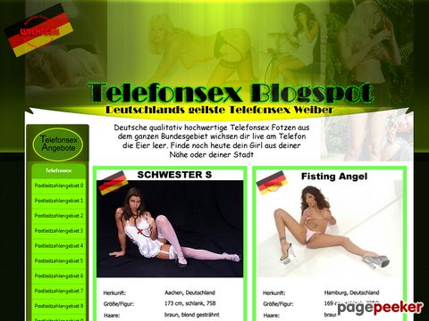 Details : Deutscher Telefonsex Blogspot - Private Erotiknummern
